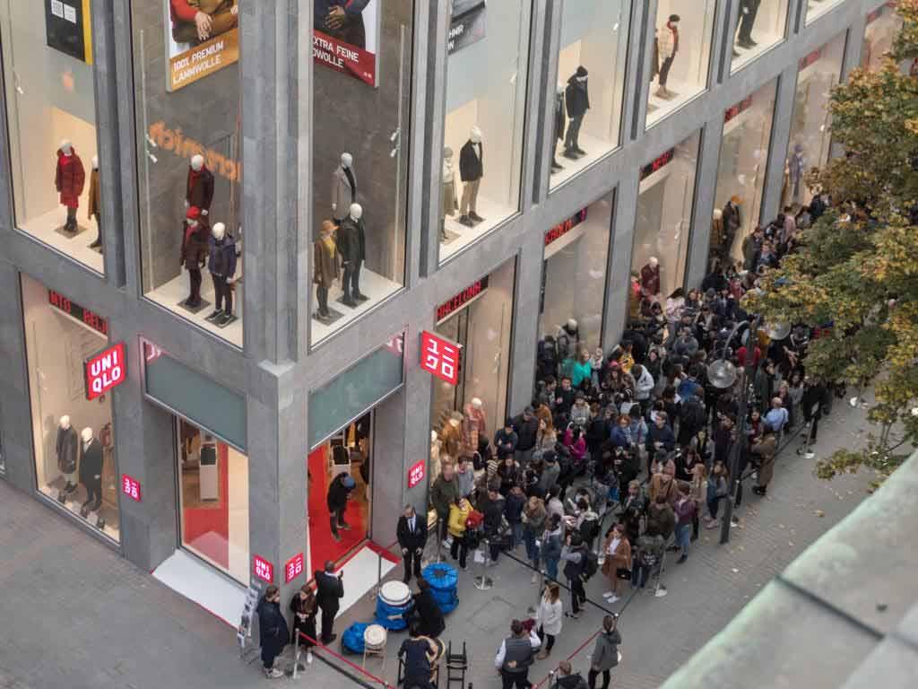 Konnichi wa, Köln! Modemarke UNIQLO eröffnet Flagship-Store copyright: UNIQLO