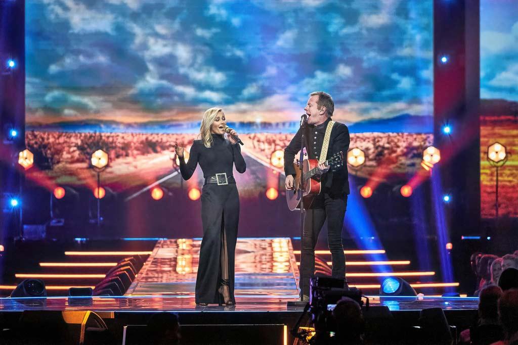 Stars und Sternchen bei der großen Weihnachts-Show im ZDF copyright: ZDF / Rene Langer