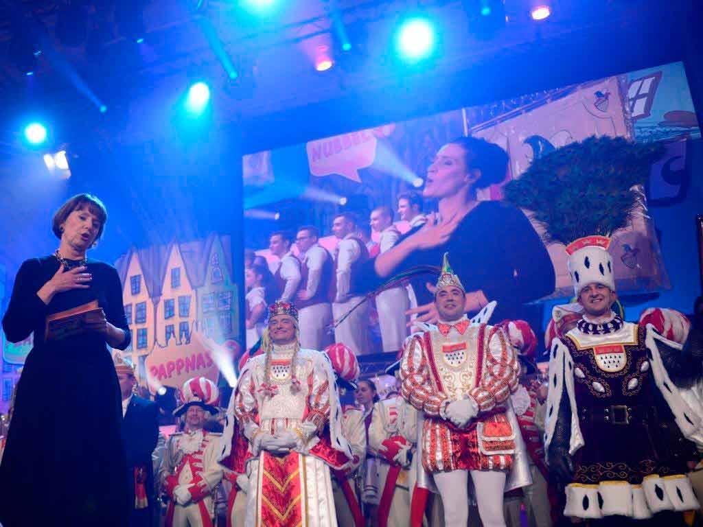 """Die Proklamation von Prinz, Bauer und Jungfrau im Karneval gehört zu den Highlights in der """"Guten Stube"""" der Domstadt.<br /> copyright: Festkomitee Kölner Karneval / Costa Belibasakis"""