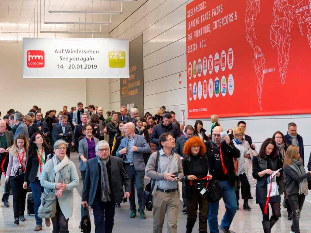 Alle Infos zur imm cologne und LivingKitchen 2019 in Köln auf einem Blick! copyright: Koelnmesse GmbH, Harald Fleissner