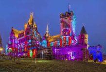 Spektakuläres Schlossleuchten auf dem Drachenfels copyright: Schloss Drachenburg gGmbH / Michael Boland