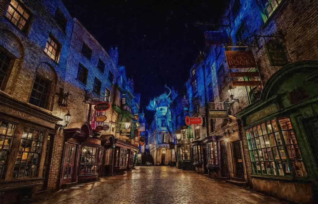 Willkommen im Paradies für Harry Potter-Fans copyright: pixabay.com