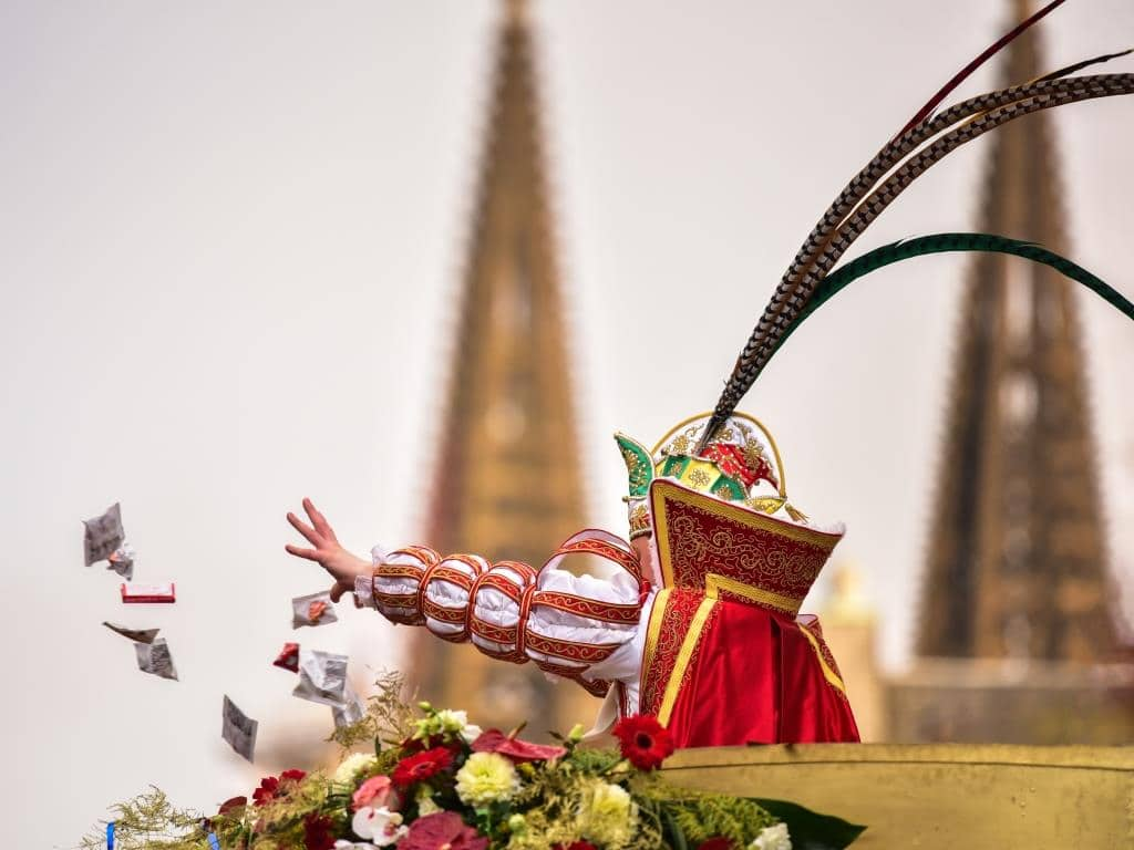 Der Kölner Rosenmontag wird auch 2020 seinen regulären Weg gehen. copyright: Festkomitee Kölner Karneval