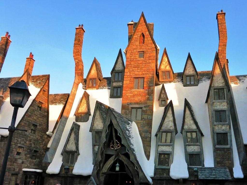 Winter in der Welt der Harry Potter-Zauberei copyright: pixabay.com