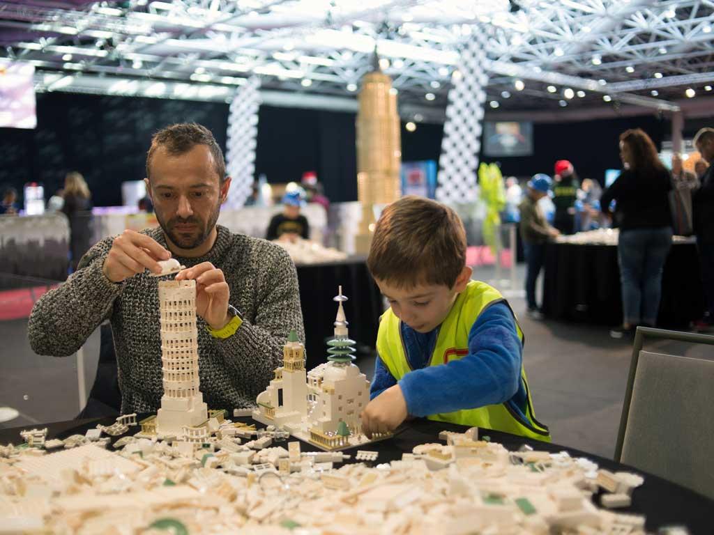 Odysseum in Köln wird zum kreativen Bausteine-Paradies copyright: Bricklive Group