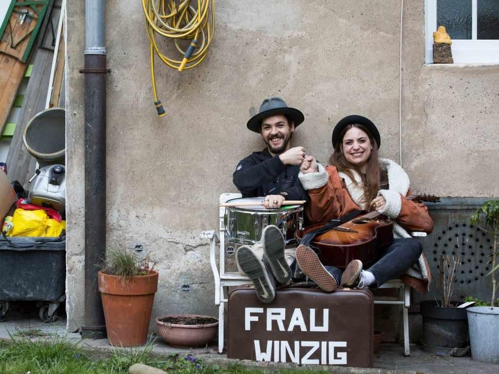 Frau Winzig gibt es jetzt im Doppelpack copyright: CityNEWS / Alex Weis