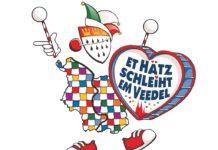 Das Karnevalsmotto der Session 2020 in Köln: Dat Hätz schleiht im Veedel copyright: Festkomitee Kölner Karneval