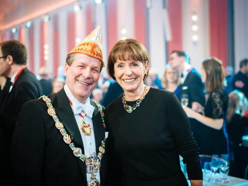 Kölns Oberbürgermeisterin Henriette Reker und Festkomitee-Präsident Christoph Kuckelkorn copyright: Festkomitee Kölner Karneval