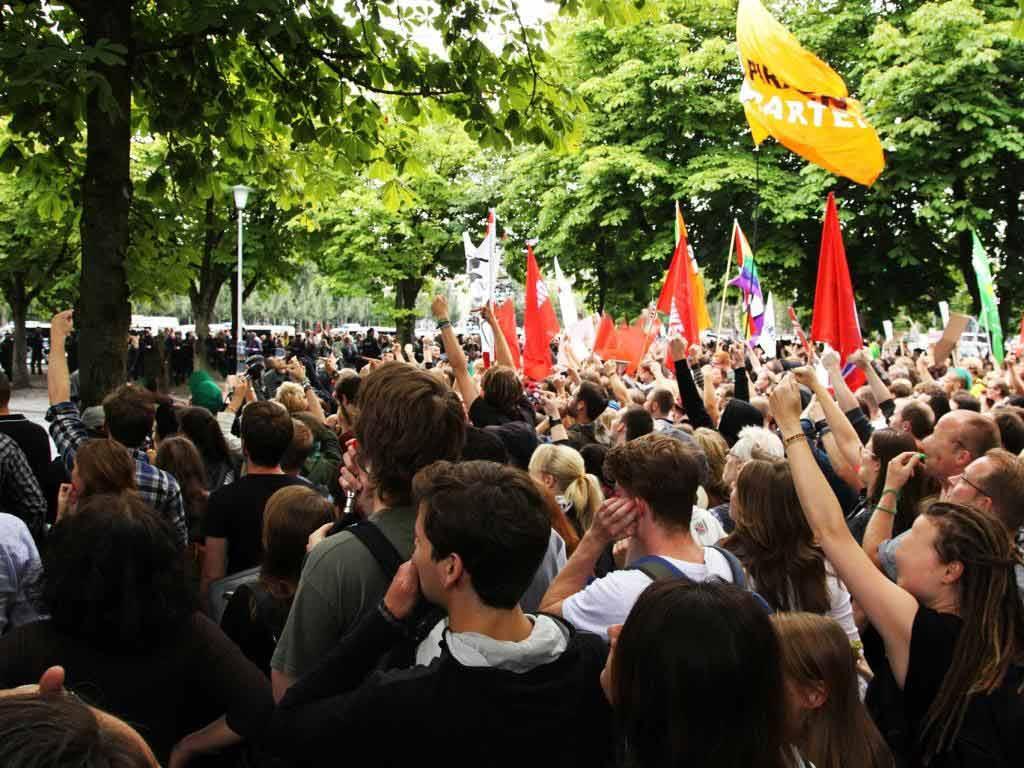Proteste gegen Urheberrechtsreform (Symbolbild) copyright: pixabay.com