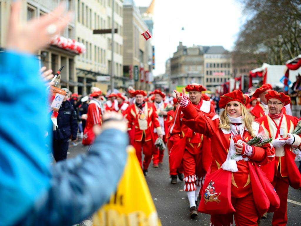 Beste Stimmung beim Zoch durch die Kölner Innenstadt. copyright: Festkomitee Kölner Karneval