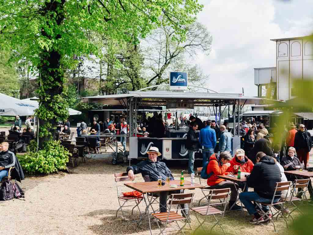 Arena Weidenpesch: An der Pferderennbahn entspannen copyright: Sion Kölsch