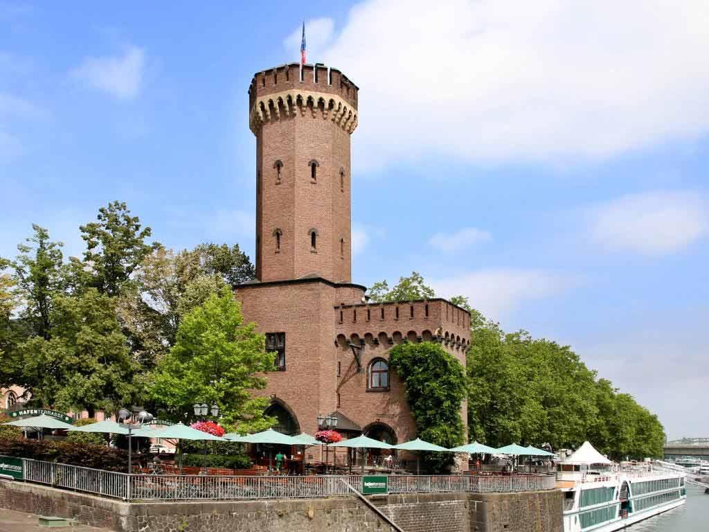 Hafenterrasse am Schokoladenmuseum: Maritimes Feeling am Rheinauhafen copyright: Hafenterrasse am Schokoladenmuseum