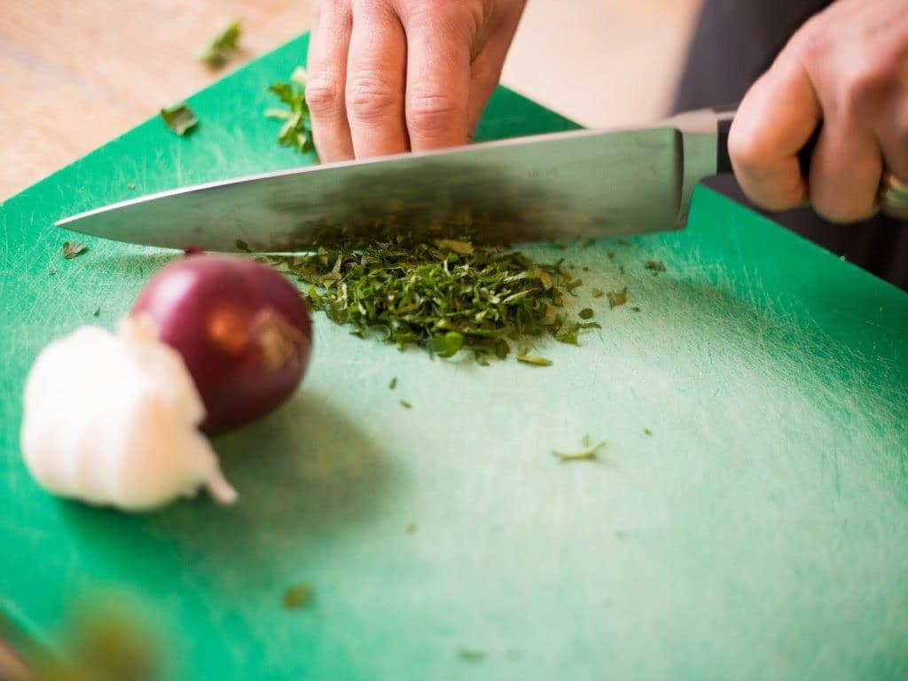Im esswahres gehört zum Kochen Leidenschaft und Liebe zusammen. copyright: esswahres / Alex Weis
