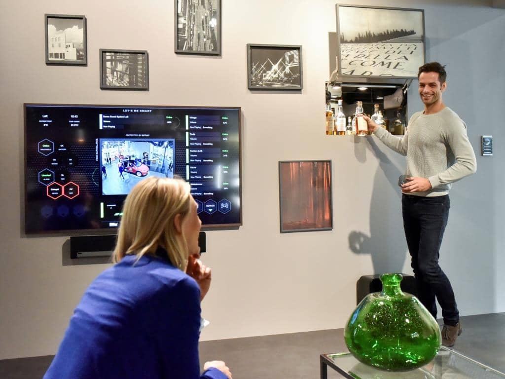 Design trifft auf Innovation im Smart Home copyright: Koelnmesse GmbH / Thomas Klerx