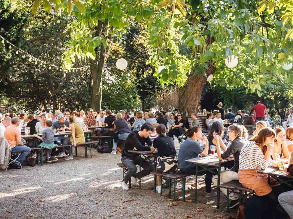 Kölner Stadtgarten: Treffpunkt der jungen Szene copyright: Sion Kölsch