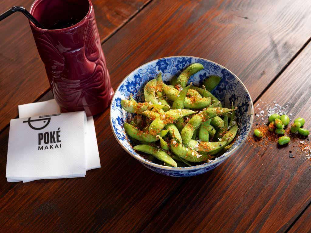 Auch Vegetarier und Veganer kommen im Poké Makai auf ihre Kosten. copyright: Peter Obenaus