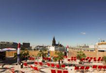 SonnenscheinEtage: Kölns höchste Beachbar eröffnet den Sommer 2019! copyright: CityNEWS / Alex Weis