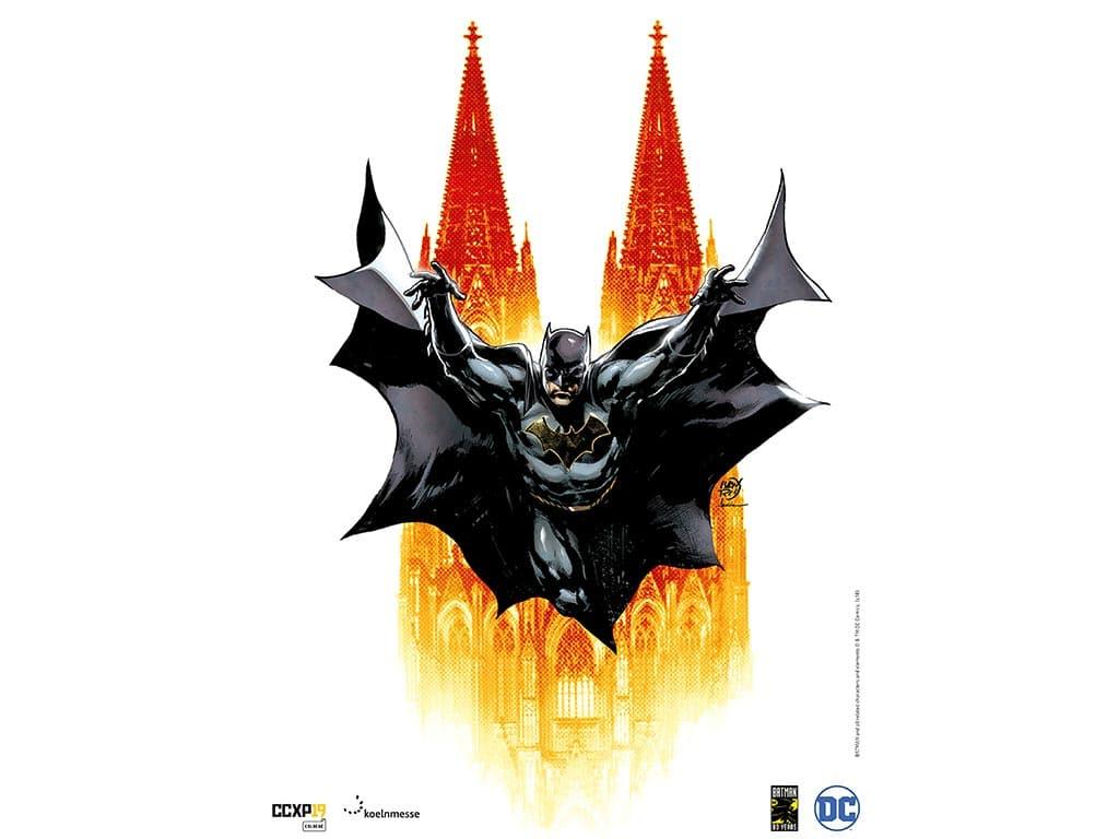 CCXP COLOGNE - Comic Con Experience 2019: Das Treffen der Superhelden und Serienstars in Köln copyright: Koelnmesse GmbH / Kreation: Ivan Reis / Coloration: Marcelo Maiolo.