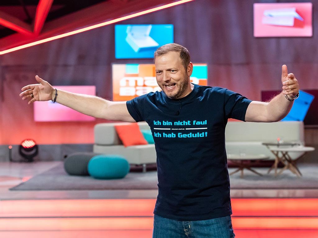 Sonst deckt Comedian Mario Barth in seiner RTL-Show Steuerverschwendungen und Co. auf. Nun gibt er selbst ein Geheimnis bekannt.<br /> copyright: MG RTL D / Sebastian Drüen