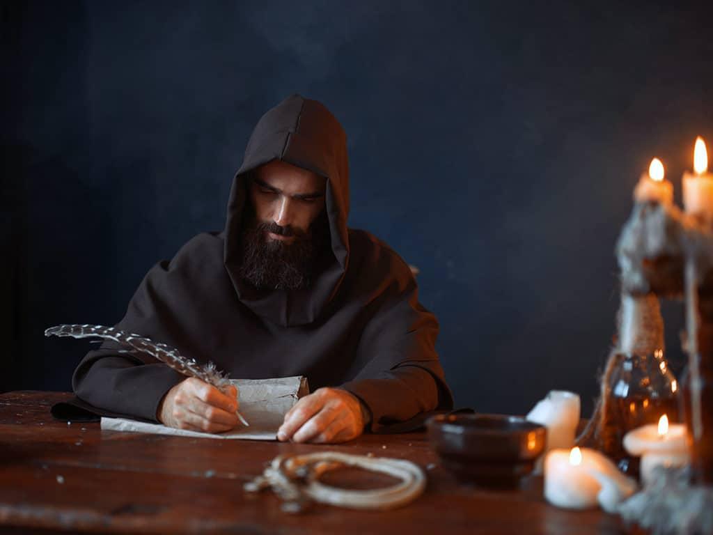 Die Marktbesucher erwartet mittelalterliches Flair. copyright: Envato / NomadSoul1