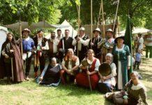 Am Pfingst-Wochenende findet im Brückenkopf-Park Jülich das große Epochen- und Historienfest 2019 statt. copyright: Horrig