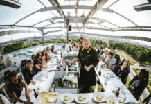 Dinner in the Sky: Mit CityNEWS erstklassiges Essen über Köln genießen! copyright: Dinner in the Sky