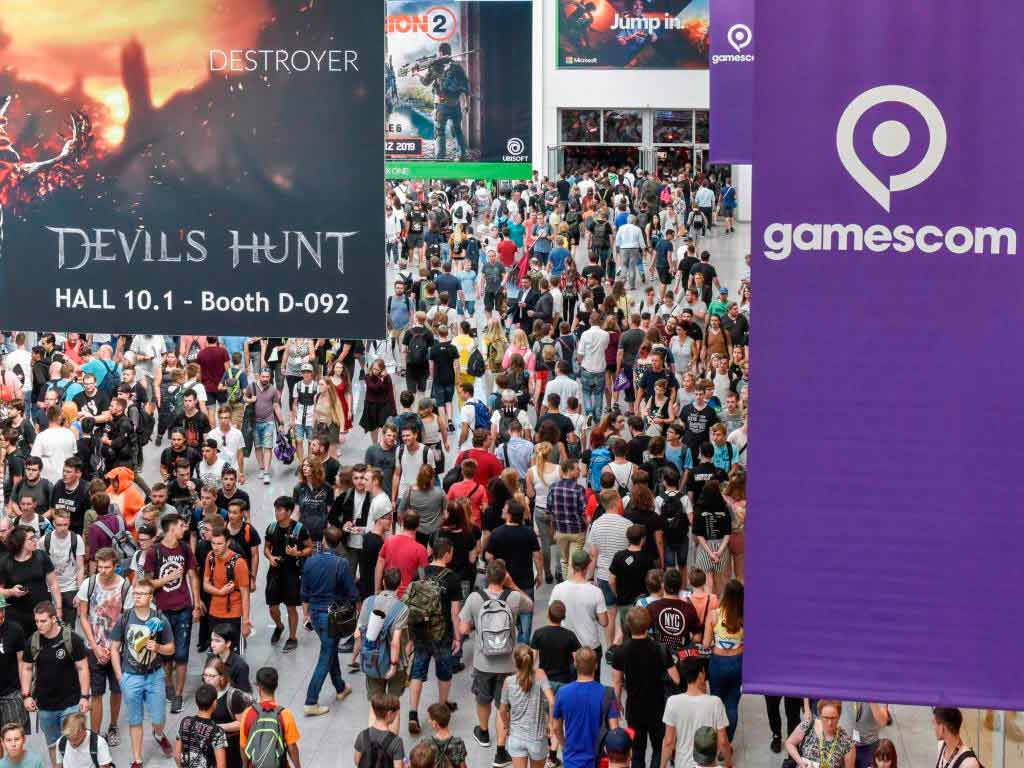 gamescom 2019 in Köln: Größer und mehr Platz für Besucher! copyright: Koelnmesse GmbH, Thomas Klerx