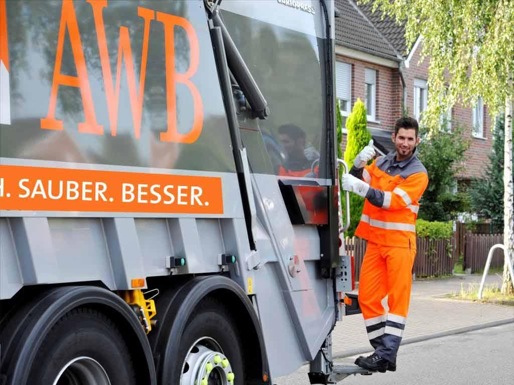 Auch die AWB ist vom Coronavirus betroffen. copyright: AWB Köln GmbH