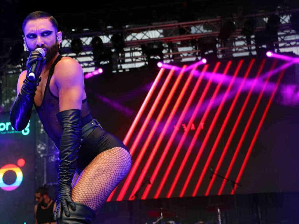 Ein Highlight des Bühnenprogramms war mit Sicherheit der Auftritt von Conchita Wurst. copyright: CityNEWS