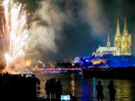 Mehr als eine Millionen Besucher werden wieder zu den Kölner Lichter am Rheinufer erwartet. copyright: WDR / Fulvio Zanettini