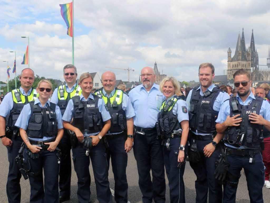 Für die die Polizei verliefen die Feierlichkeiten rund um das Kölner CSD-Wochenende äußerst friedlich und ruhig. copyright: CityNEWS