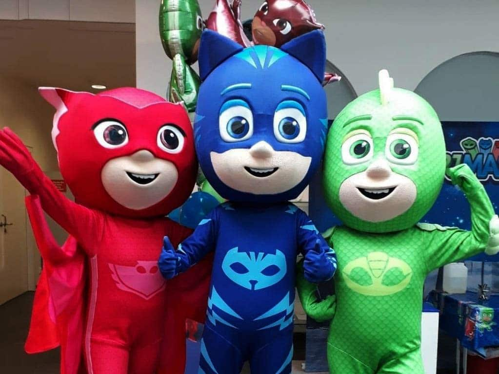 Die Pyjamahelden PJ Masks sind am Sonntag, 25. August 2019 im Kölner Odysseum zu Gast. copyright: Odysseum Köln