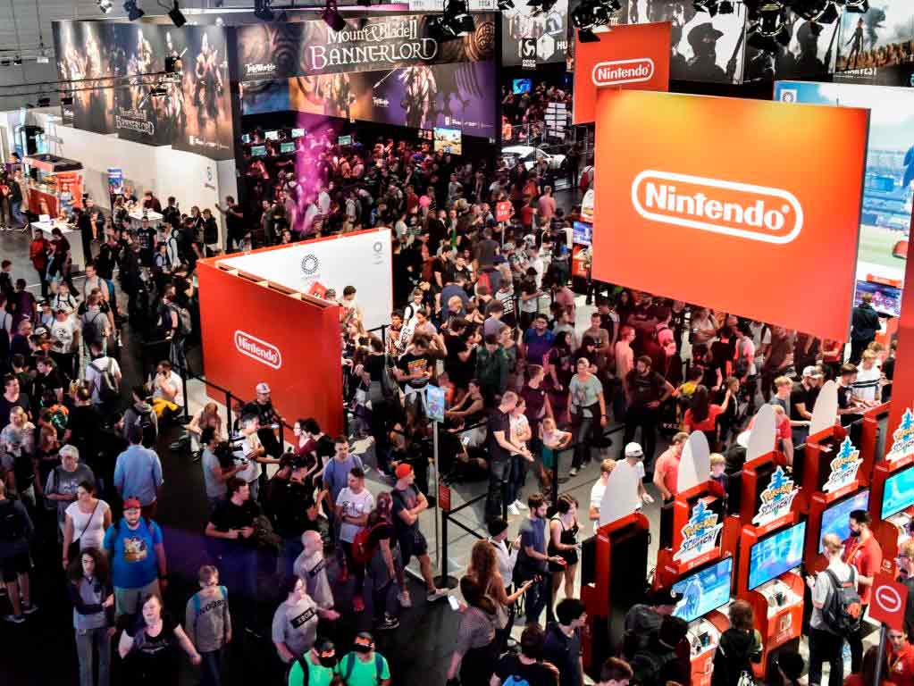 Die gamescom ist die weltweit größte Computerspiele-Messe copyright: Koelnmesse GmbH / Thomas Klerx