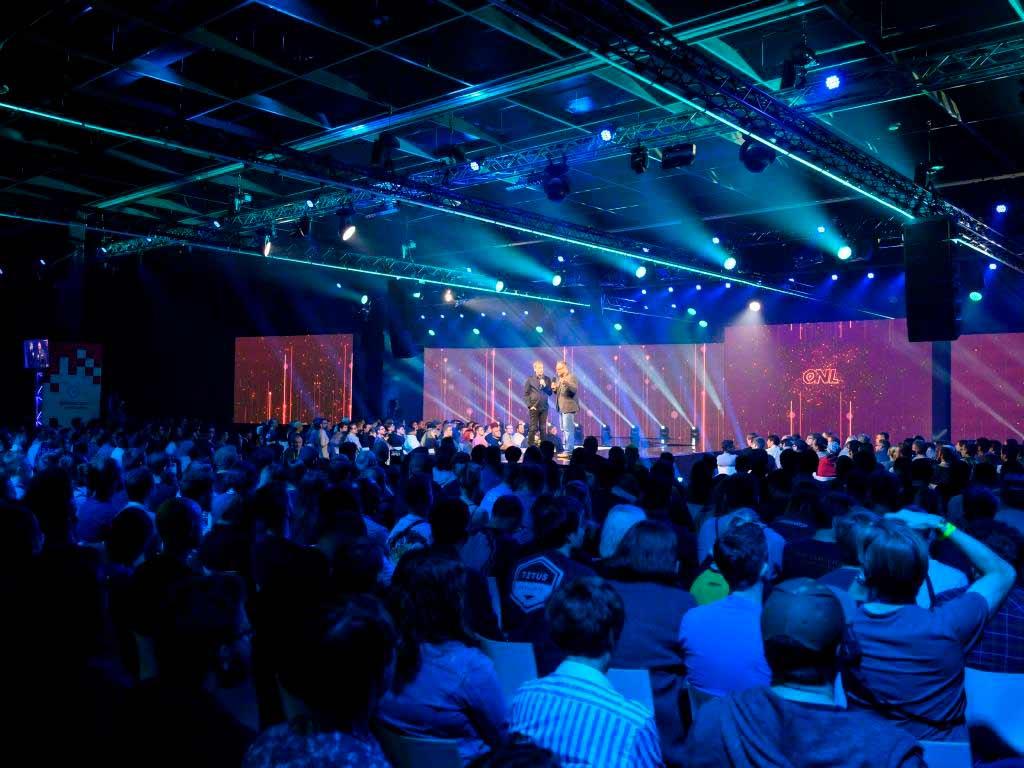 Den Auftakt in die diesjährige gamescom-Woche bildete die neue Eröffnungs-Show gamescom: Opening Night Live. copyright: Koelnmesse GmbH / Oliver Wachenfeld