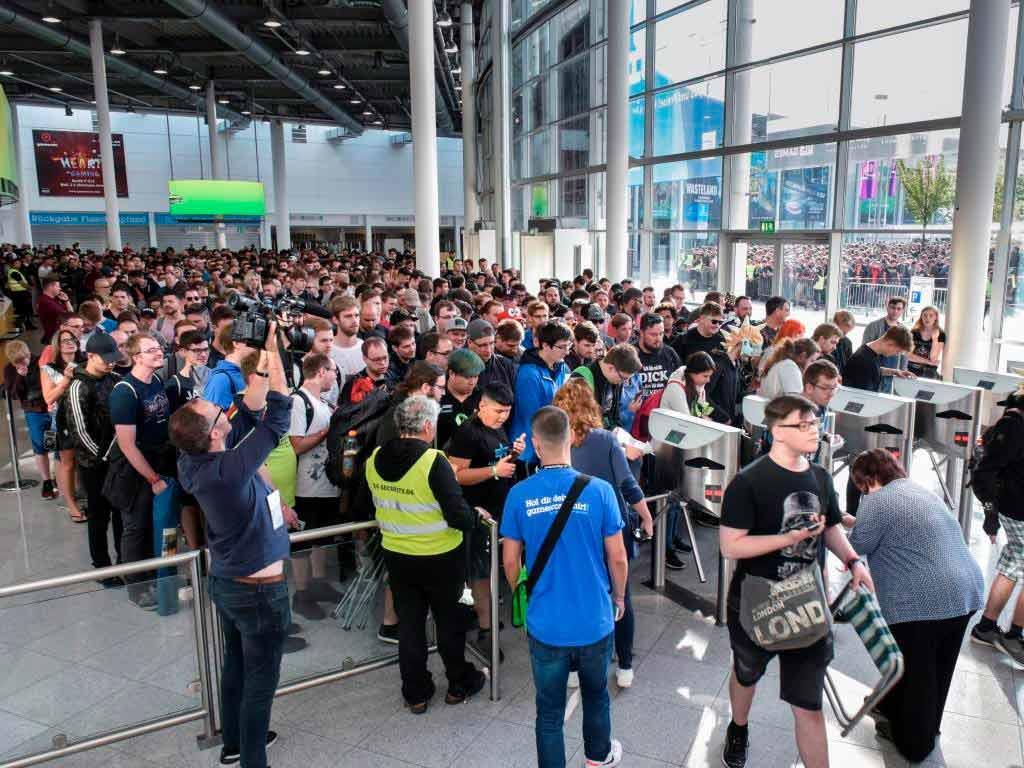 Tickets: Nur noch Tageskarten für gamescom-Donnerstag verfügbar copyright: Koelnmesse GmbH / Thomas Klerx