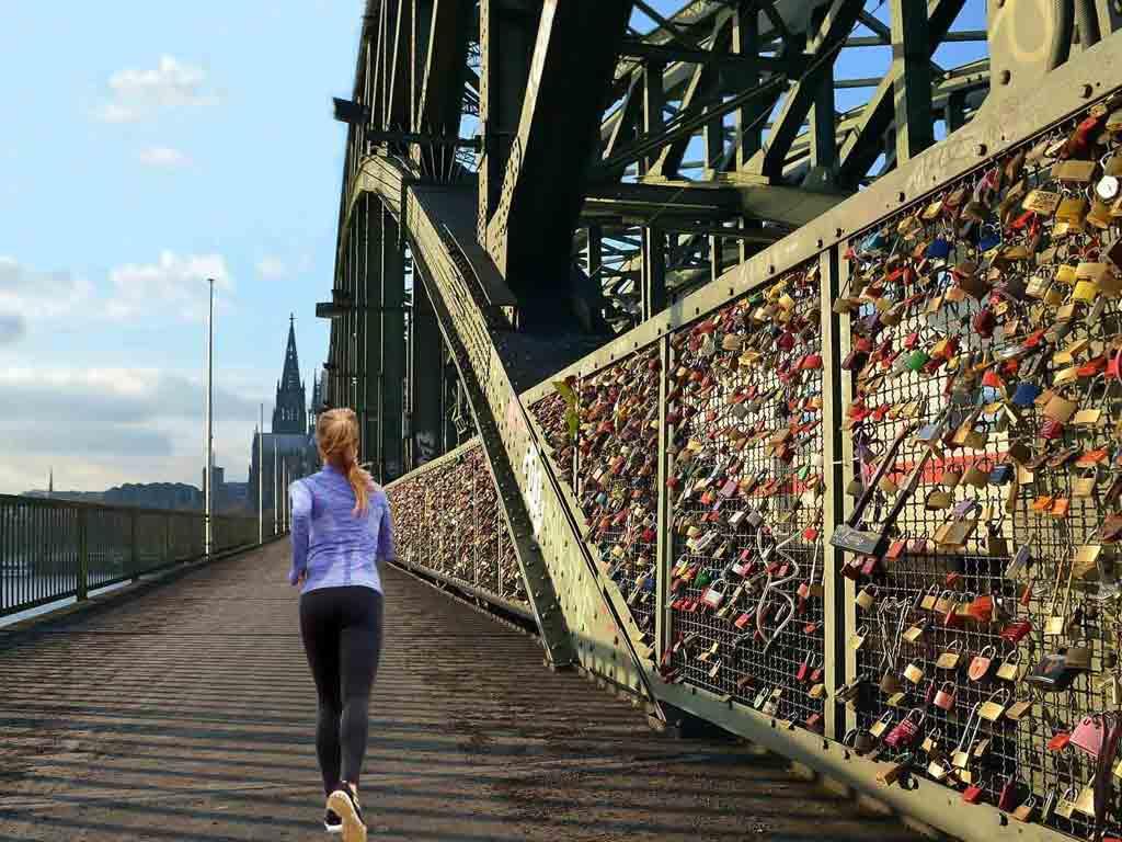 Das sind die schönsten Laufstrecken in Köln