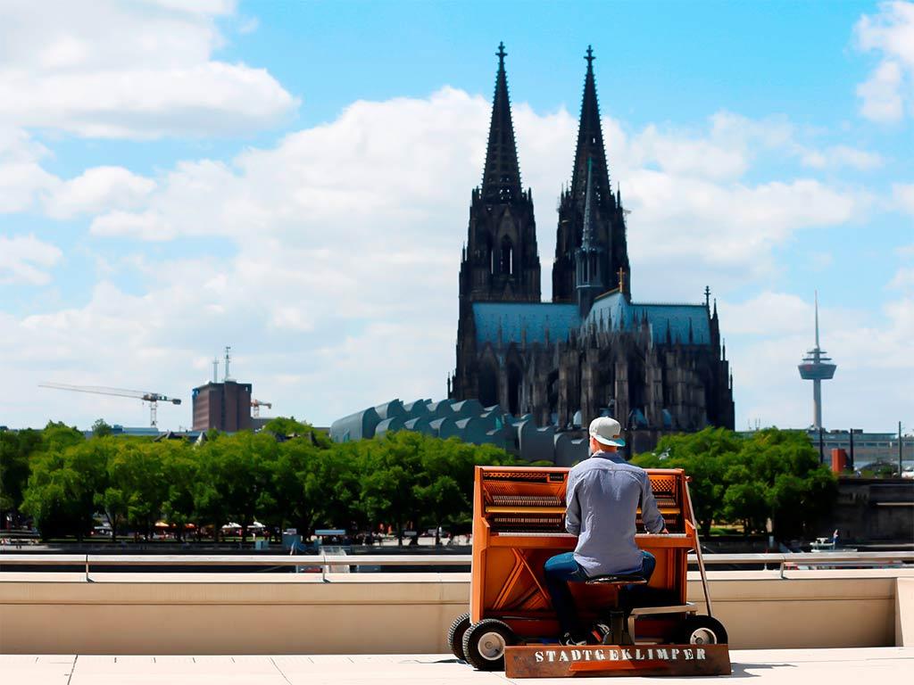Stadtgeklimper geht von Köln aus wieder auf Europa-Reise copyright: CityNEWS / Alex Weis