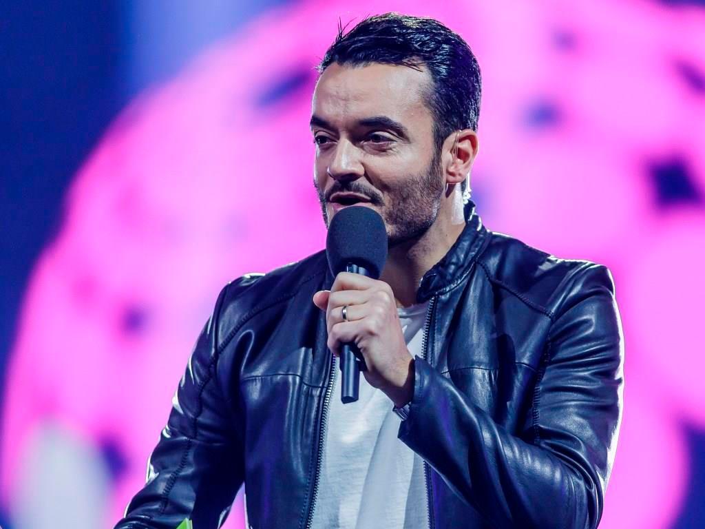 Giovanni Zarrella moderiert die große Musik-Show in Köln. copyright: RTL II / Mo Wüstenhagen