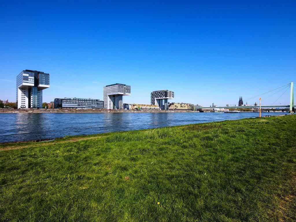 So schön sind unsere Veedel: Der Kölner Rheinauhafen copyright: CityNEWS / Alex Weis