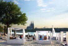 km 689 Cologne Beach Club: Die Karibik direkt am Kölner Rheinufer copyright: KölnKongress GmbH