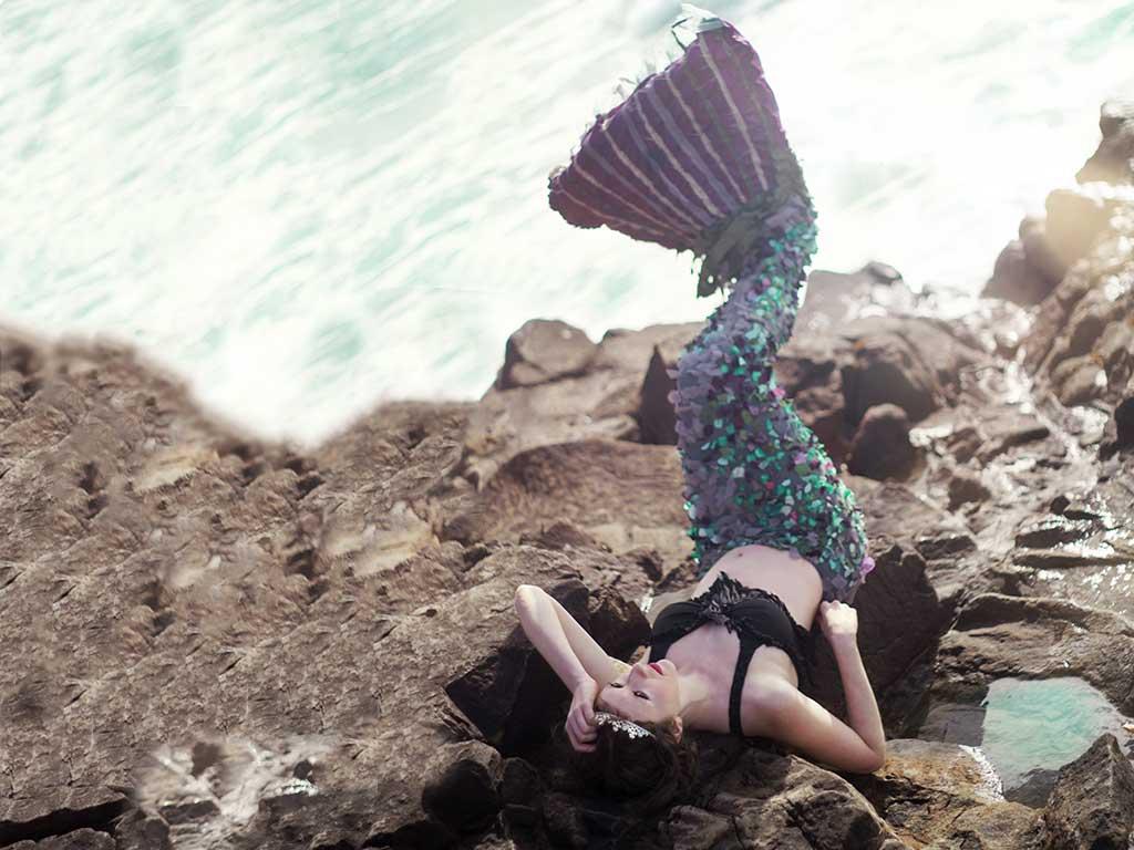 Ganz wichtig beim Mermaiding ist das Kostüm. copyright: pixabay.com