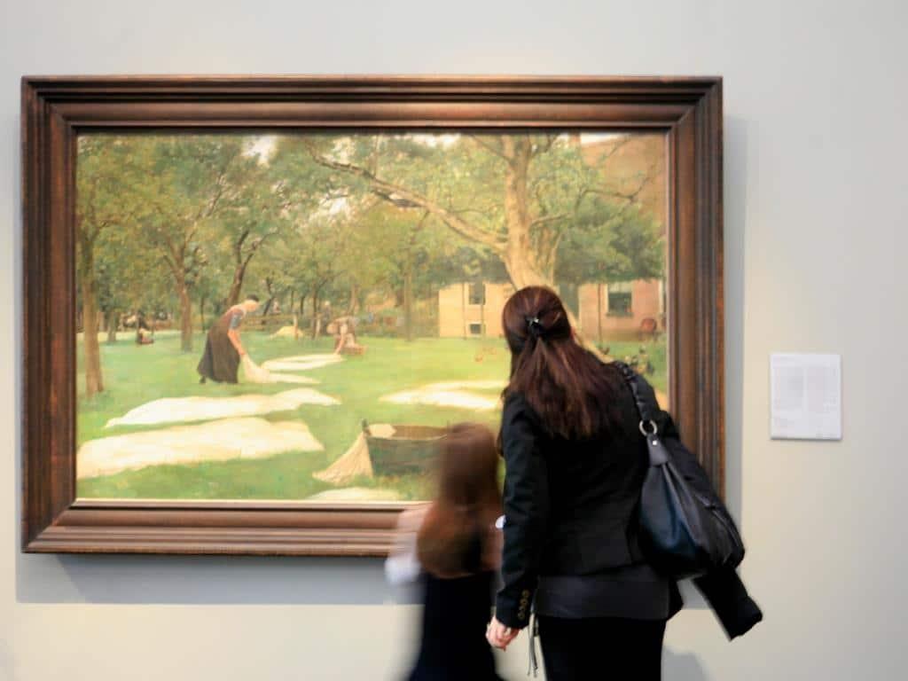 Die Museumsnacht in Köln bietet auch die kleinen Kunstinteressierten jede Menge zum Entdecken. copyright: Wallraf-Richartz-Museum & Fondation Corboud