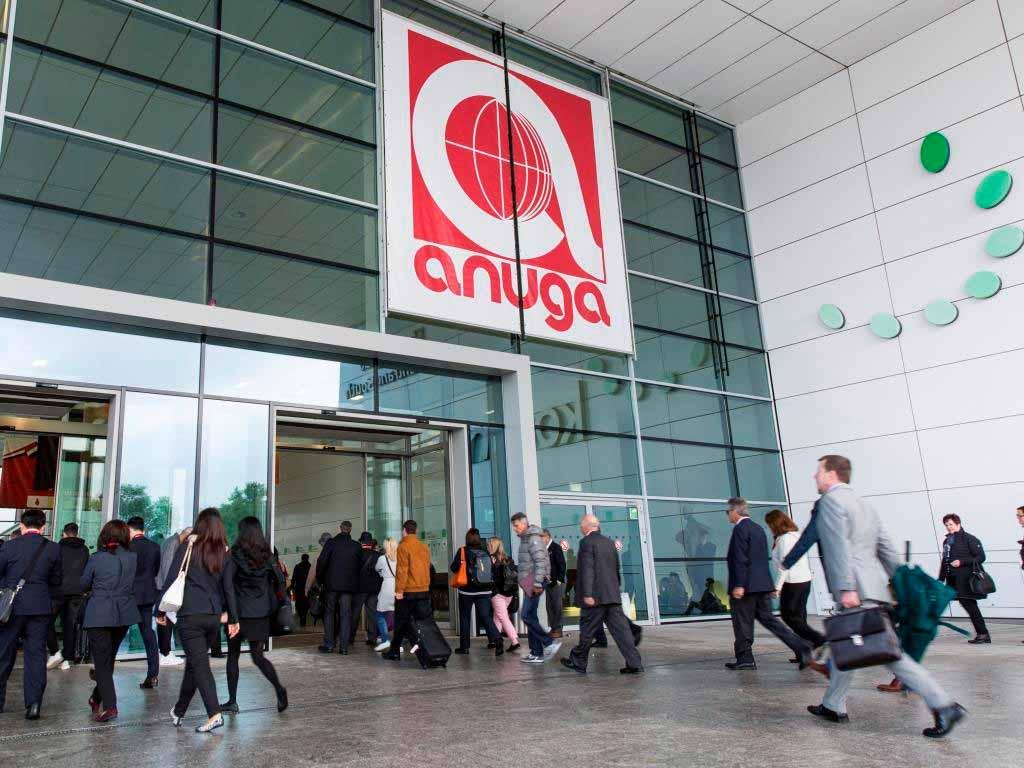 Die Anuga feiert 2019 ihr 100-jähriges Jubiläum copyright: Koelnmesse GmbH / Sven Otte