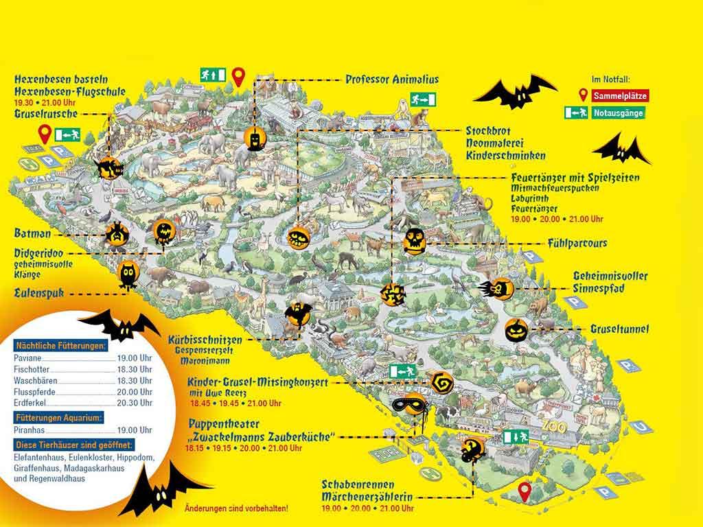 Zu Halloween im Kölner Zoo wird es schaurig-schön!