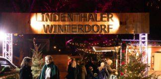 Auf dem Karl-Schwering-Platz findet vom 25.11. bis 22.12.2019 erneut das Lindenthaler Winterdorf statt. Ein Kölner Weihnachtsmarkt mitten im Veedel. copyright: Krzysztof Swider