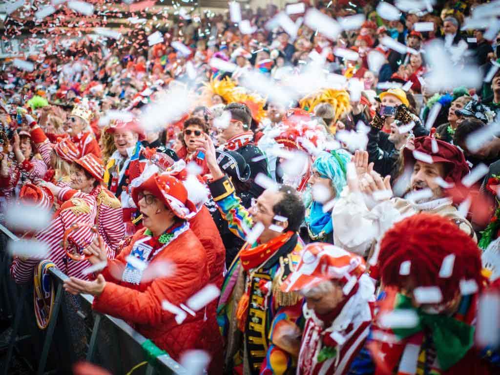 Übersicht: Das Programm am 11.11.2019 auf dem Heumarkt in Köln! copyright: Festkomitee Kölner Karneval