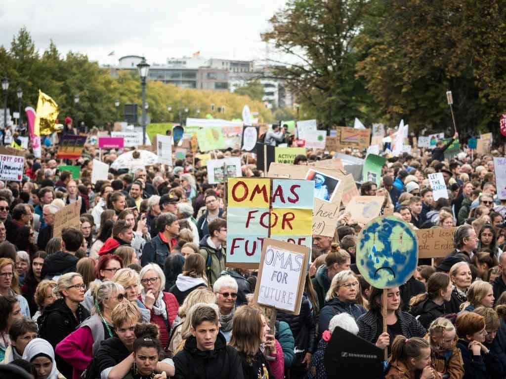 Die Veranstater der Fridays for Future-Bewegung rechnen bei der Demonstration in Köln mit rund 20.000 Teilnehmern. - copyright: Fridays for Future Deutschland