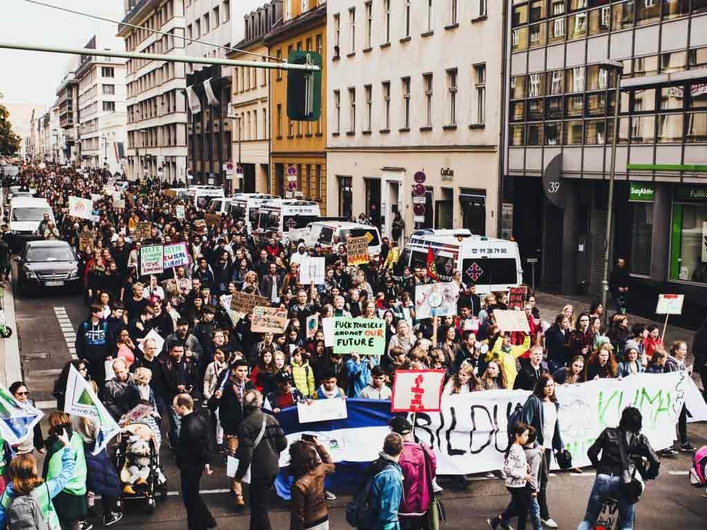 Die Klima-Demo in Kön soll den Tagesablauf in der Domstadt erheblich stören. copyright: Fridays for Future Deutschland