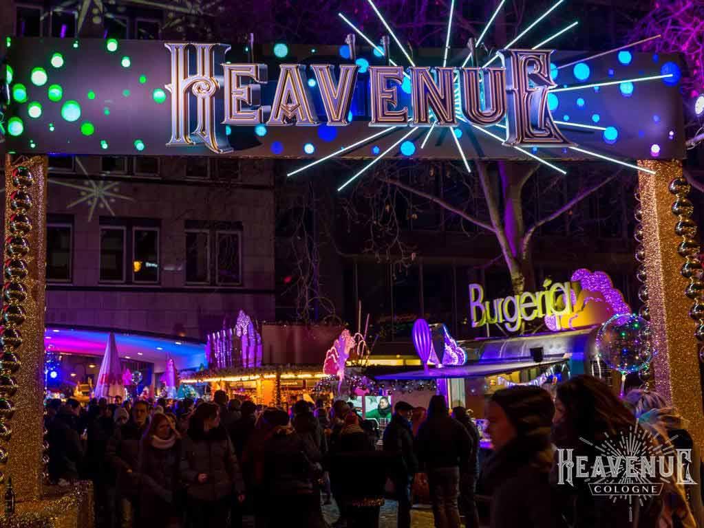 Vom 21. November bis 23. Dezember 2019 öffnet die Heavenue Cologne ihre Pforten. - copyright: Heavenue / Stefan Paulus SP-Creative