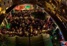 Der kleinste Weihnachtsmarkt in Köln an der Lutherkirche copyright: digitalfotografie-fischer